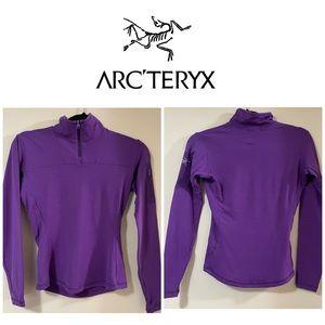 Arc'Tyrex Purple Esra Wool Base Layer Shirt